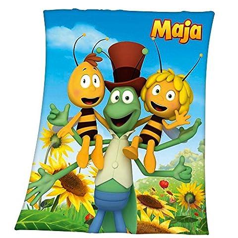 Maya l'abeille - Couvertures Enfants Amis - Taille 130 x 160 cm