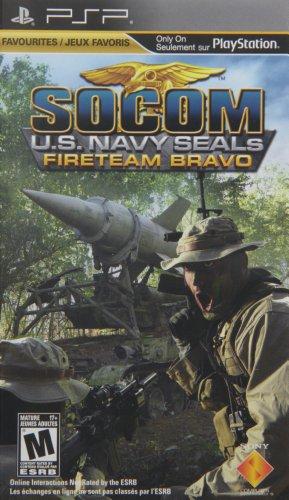 SOCOM U.S. Navy Seals Fireteam Bravo [Sony PSP]