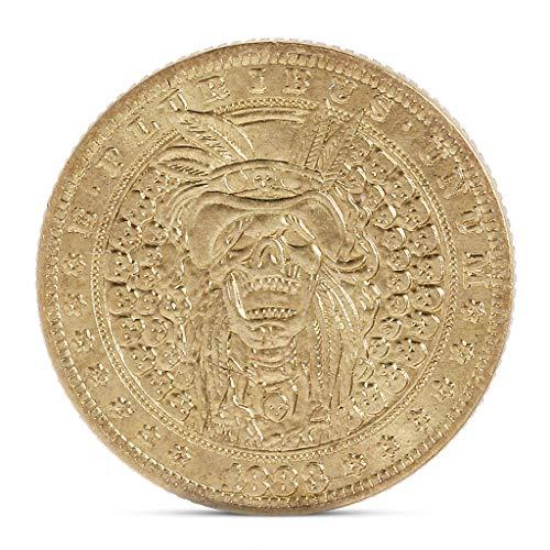8 - Exing coleccionistas Monedas Moneda, Imitation Antiguas Monedas de Oro Moneda Conmemorativa antigüedad piratería. Artesanía Home Decor