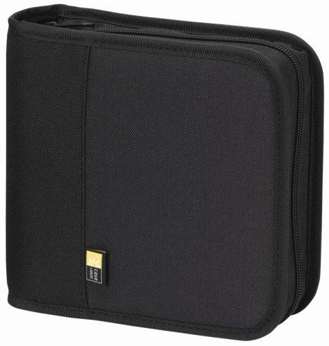 case-logic-bnw-24-polyester-cd-dvd-wallet-24-capacity-black-size-24