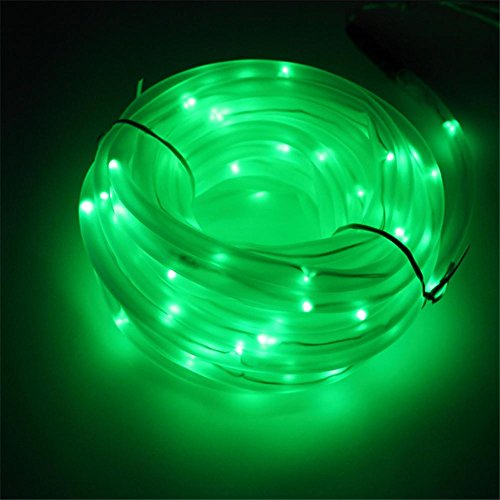 HomJo Solar LED Garden Spotlight Solar-Lampe im Freien wasserdichte LED bunte Röhre Lampe Serie Garten Landschaftsbau Dekoration Lampe , ()