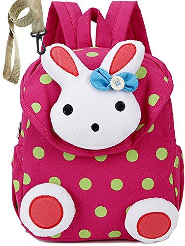 Zainetti per bambini rosa prescolastico infanzia zaino scuola borsa ragazza carino cher(1-3anno)