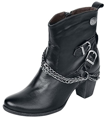 Rock Rebel by EMP Chain Boot Anfibi/Stivali nero EU39