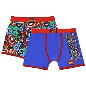 3 Pack Marvels Spiderman Boys Hosen//Slips Gr/ö/ßen 2-8 Jahre