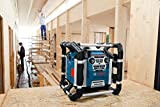 Bosch Professional GML 50 Akku-Baustellenradio (mit Ladefunktion, 50 Watt Nennleistung, USB, SD, 2x Aux-In, Aux-Out, 12 V Steckdose) 0601429600 - 2