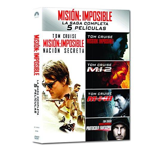 Pack: Misión Imposible 1-5 [DVD]