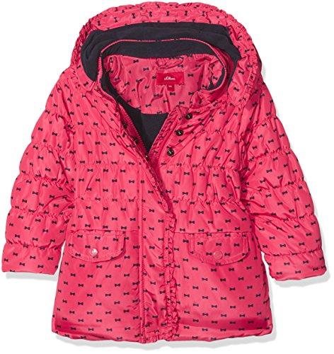 s.Oliver Baby-Mädchen Jacke 59709512417 Rosa (Pink Aop 45A7), 74 (Junior Daunenjacke)