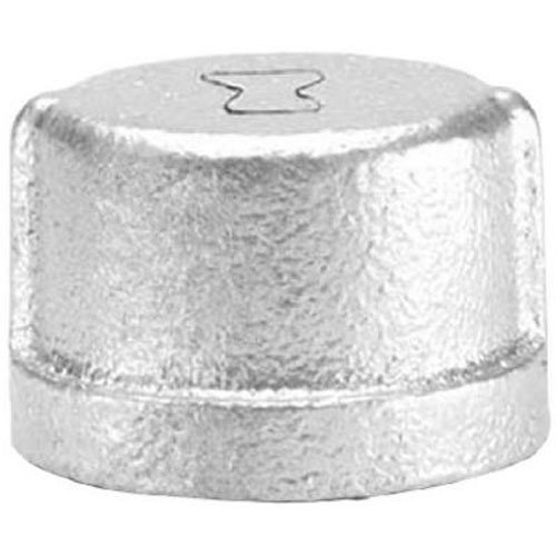 Anvil 8700132700, Malleable Iron Pipe Fitting, Cap, 3/4 NPT Female, Galvanized Finish by Anvil International