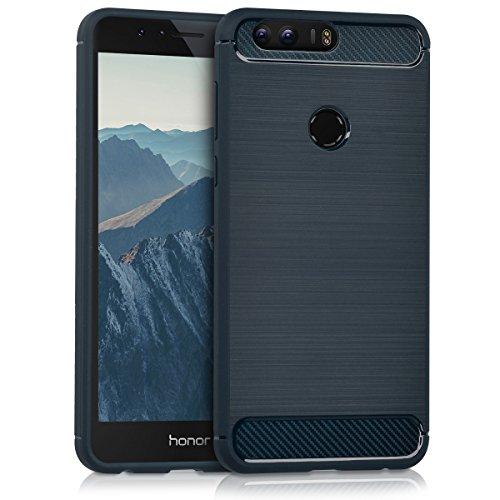 kwmobile Huawei Honor 8 / Honor 8 Premium Hülle - Handyhülle für Huawei Honor 8 / Honor 8 Premium - Handy Case in Dunkelblau
