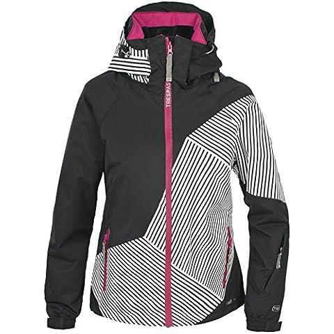 Trespass Tabatha - Chaqueta de esquí para mujer, color negro, talla L