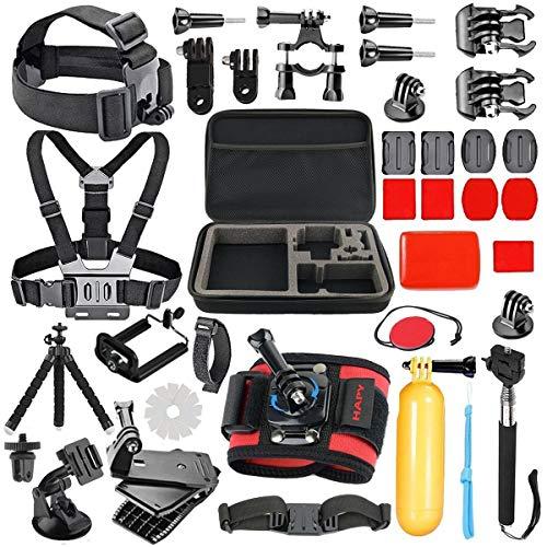 HAPY accessories kit gopro - Kamera die Aktion 4 / 5 / 6. Held, 1 / 2 / 3 + 3 / 4 / 5, sj4000 / 5000,schwimmen, camping und mehr DV - Mountain - bike