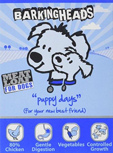 Barking-Heads-Dog-Food-Puppy-Days-Meatloaf-Chicken-105-kg-Pack-of-7