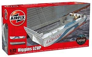 Airfix - Higgins LCVP, Juguete de modelismo (Hornby A02340)