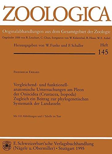 Vergleichend- und funktionell-anatomische Untersuchungen am Pleon der Oniscidea (Crustacea, Isopoda): Zugleich ein Beitrag zur phylogenetischen Systematik der Landasseln (Zoologica)