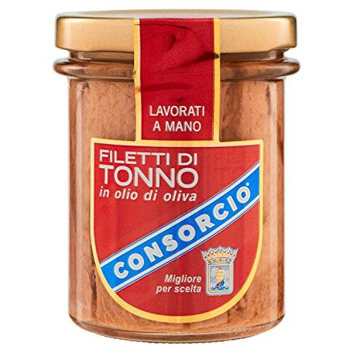 Consorcio Filetti di Tonno, in Olio di Oliva - 195 gr