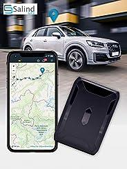 SALIND GPS-Tracker Auto, Motorrad, Fahrzeuge und LKW´s mit Magnet, etwa 40 Tage Akkulaufzeit (bis zu 90 Tage im Standby Modu