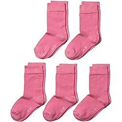 MyWay MyWay kids socks basic 5er - Calcetines para niñas, Rosa (pink 713), 27-30