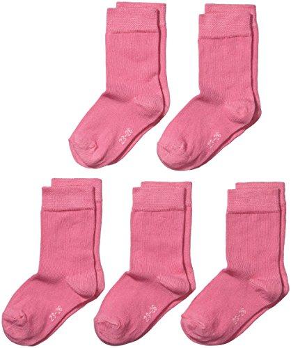MyWay Mädchen Socken im 5er Pack, Gr. 23-26, Rosa (Pink 713)
