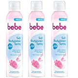 bebe Soft Bodylotion Spray - Intensivpflegende Bodylotion zum Aufsprühen mit
