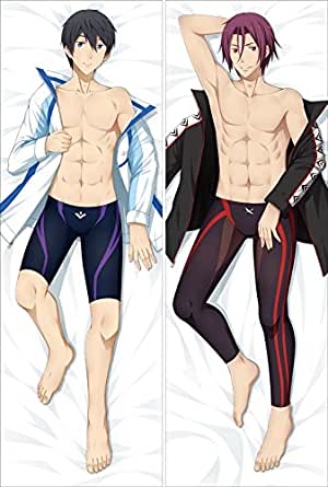 ANIME BODY PILLOW case Cover Rin From