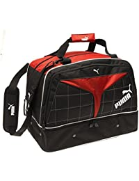 Puma Motor Sport bolsa de deporte negro/rojo