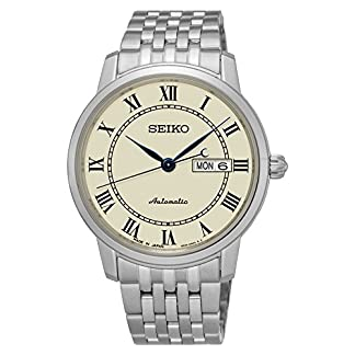 Seiko Analog Champagne Dial Men's Watch-SRP763J1