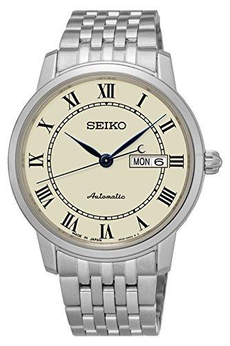 Seiko Analog Champagne Dial Men's Watch-SRP763J1