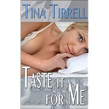 Taste It for Me: *a Male Self-Tasting Encouragement Fantasy* (English Edition)