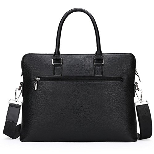 Schulter Messenger Business Pack Handtasche Männer Casual Large Capacity Aktenkoffer Black