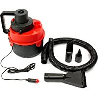 12V Portable Wet Dry Mini Vacuum Cleaner Carpet Auto Boat Air Inflating Pump