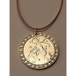 "Medalla ""Tesoro"" del Ratoncito Pérez - dorada"