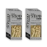 #3: Stod 5000 Male Premature Delay Spray Full Time Sex Power Complete Pleasure 20g (Pack Of 2)