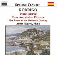 Rodrigo: Piano Music, Vol. 1