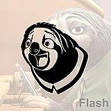woyaofal Flash Rire Scène Vinyle Autocollant Mural Paresseux Home Decor Sticker...