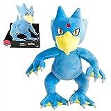 TOMY Selezione Giocattoli Peluche Figure | Pokemon | Confezione Regalo 25 cm, Felpa:Golduck