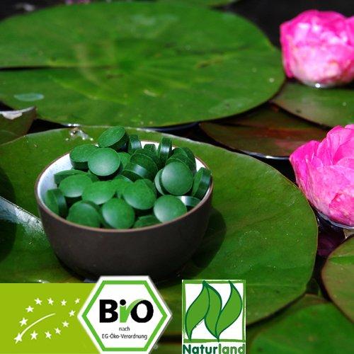 Bio Chlorella pyrenoidosa Tabletten - Naturland zertifiziert 500g zu je 250mg
