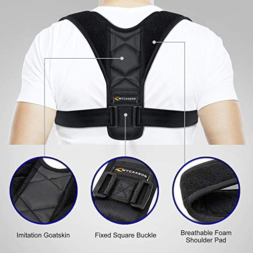 Zoom IMG-1 mycarbon fascia posturale correttore postura