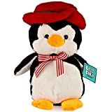 Christams Gift Stuff Toy Penguin, Blue Block Factory Soft 11 Inch Penguin