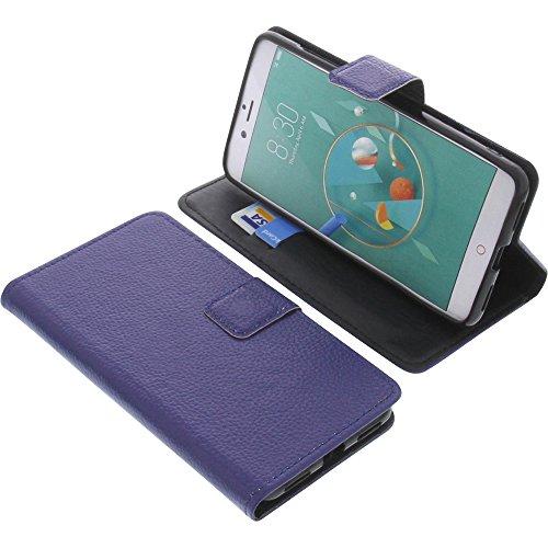 foto-kontor Tasche für Archos Diamond Alpha Plus Book Style blau Schutz Hülle Buch