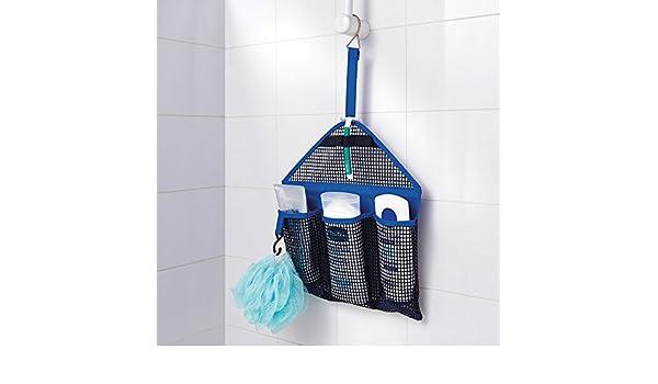 Salvaspazio Cucina Dmail : Dmail portaoggetti salvaspazio da appendere per doccia amazon