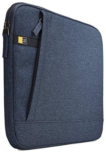 Case Logic Huxton Sleeve Schutzhülle für Notebooks bis 33,8 cm (13,3 Zoll) Blau (Case Logic Laptop Sleeve)