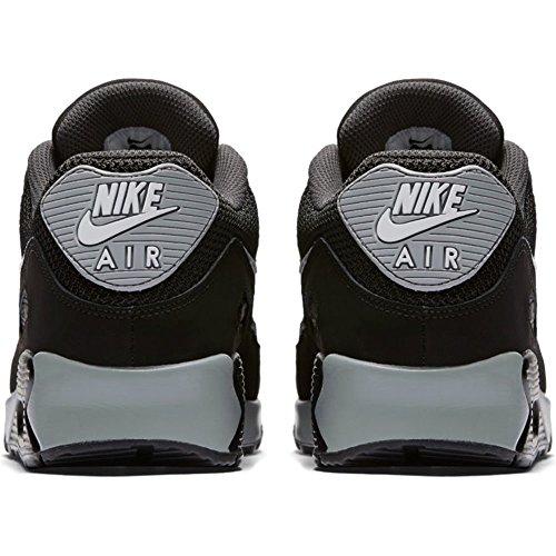 Nike Herren Air Max 90 Essential Low-Top BLACK/WHITE-ANTHRACITE-WOL