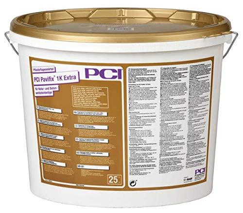 PCI Pavifix 1K Extra Pflasterfugenmörtel 25 kg - grau - Für Bodenflächen mit Fußgänger- und gelegentlichem PKW-Verkehr
