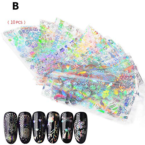 Nagellack,Förderung,PorLous2019 Frau Mode Frauen Nail Art Nial Aufkleber Designs Mädchen Beauty Nail Tools Schnell Trocknend Dauerhaft Multicolor 2