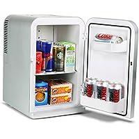 15 Litre Mini Fridge Cooler and Warmer - Silver