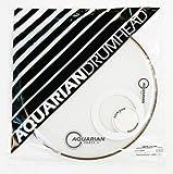 Aquarian FFP18WH Full Force Packs Schlagzeugfell für Basstrommel, 45,7 cm, Weiß glänzend