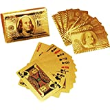 SHOPEE Branded 24 K Gold Plated Poker Playing Cards (Golden)