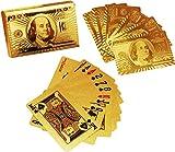 #7: ShopAIS 24 K Gold Plated Poker Playing Cards (Golden)