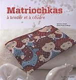 Matriochkas à broder et à coudre