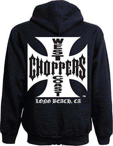 WCC Hoodie Iron Cross schwarz-XL